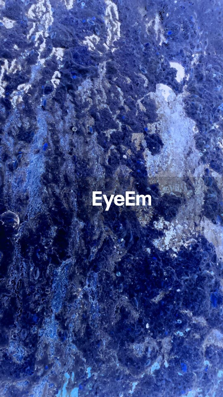 full frame, blue, textured, no people, abstract, quartz, backgrounds, close-up, satellite view, day