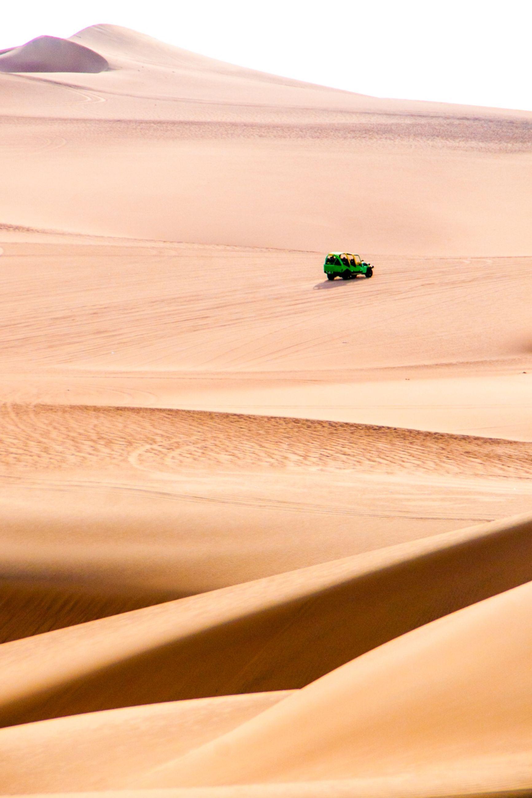 SCENIC VIEW OF DESERT LAND