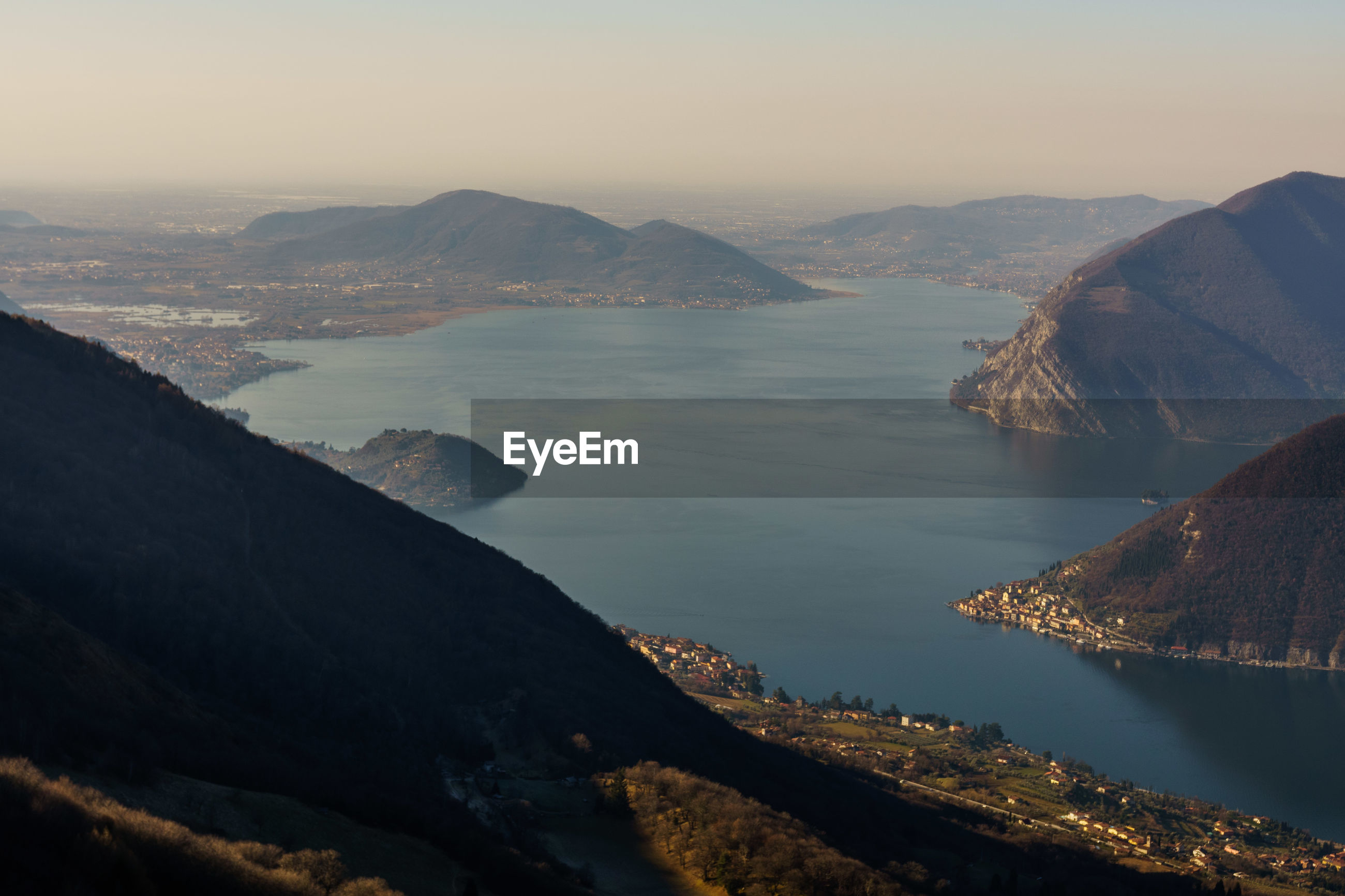 SCENIC VIEW OF SEA AND MOUNTAIN