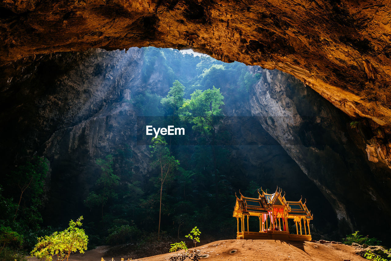 cave, mountain, belief, rock, religion, beauty in nature, scenics - nature, nature, rock - object, tranquility, solid, rock formation, place of worship, tranquil scene, spirituality, no people, travel destinations, architecture, travel, non-urban scene, outdoors, shrine