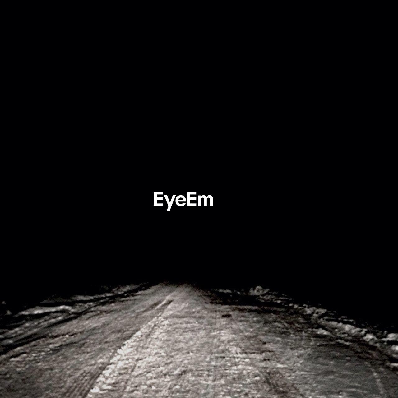 night, dark, road, black background, no people, outdoors
