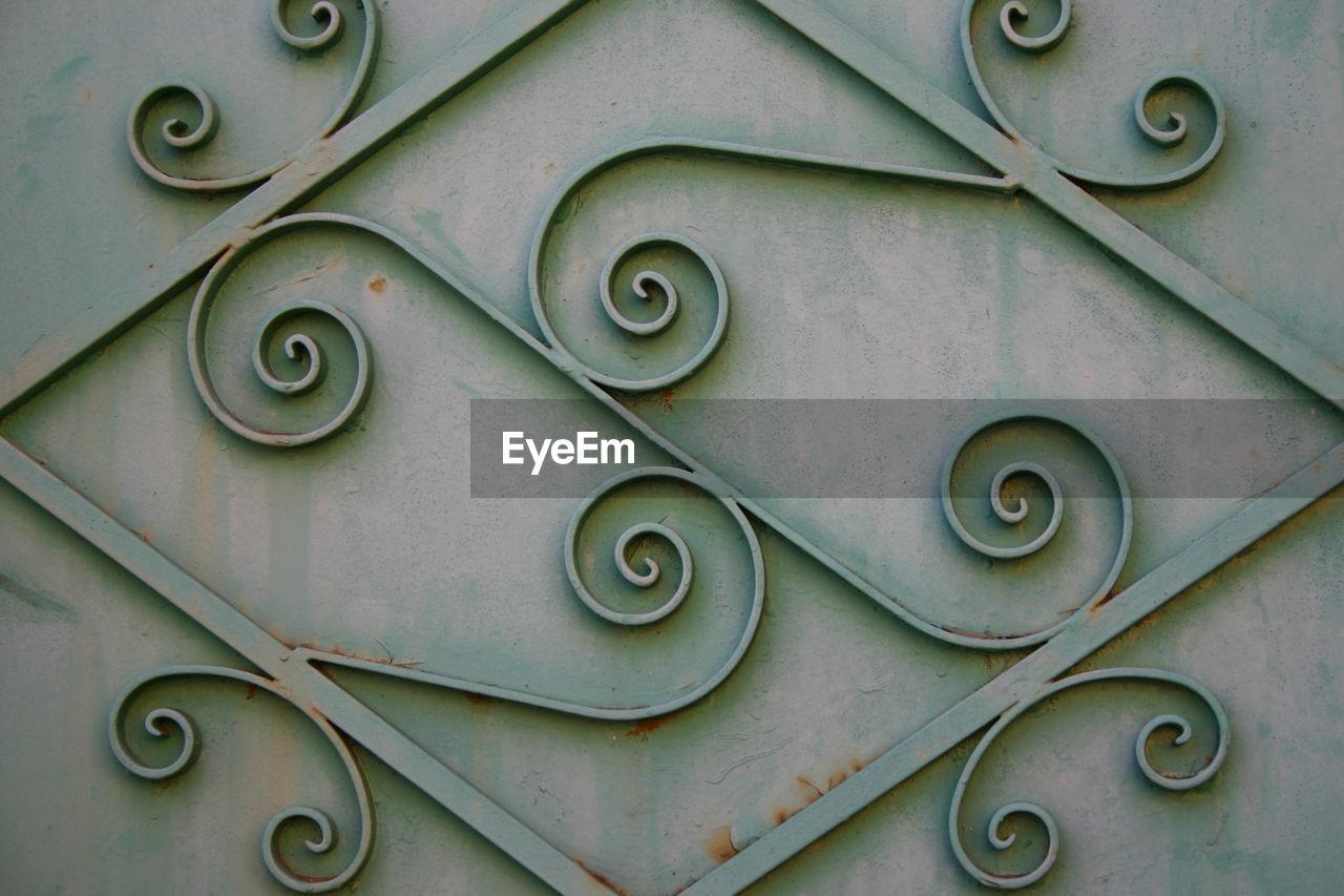 Full Frame Shot Of Pattern On Metal