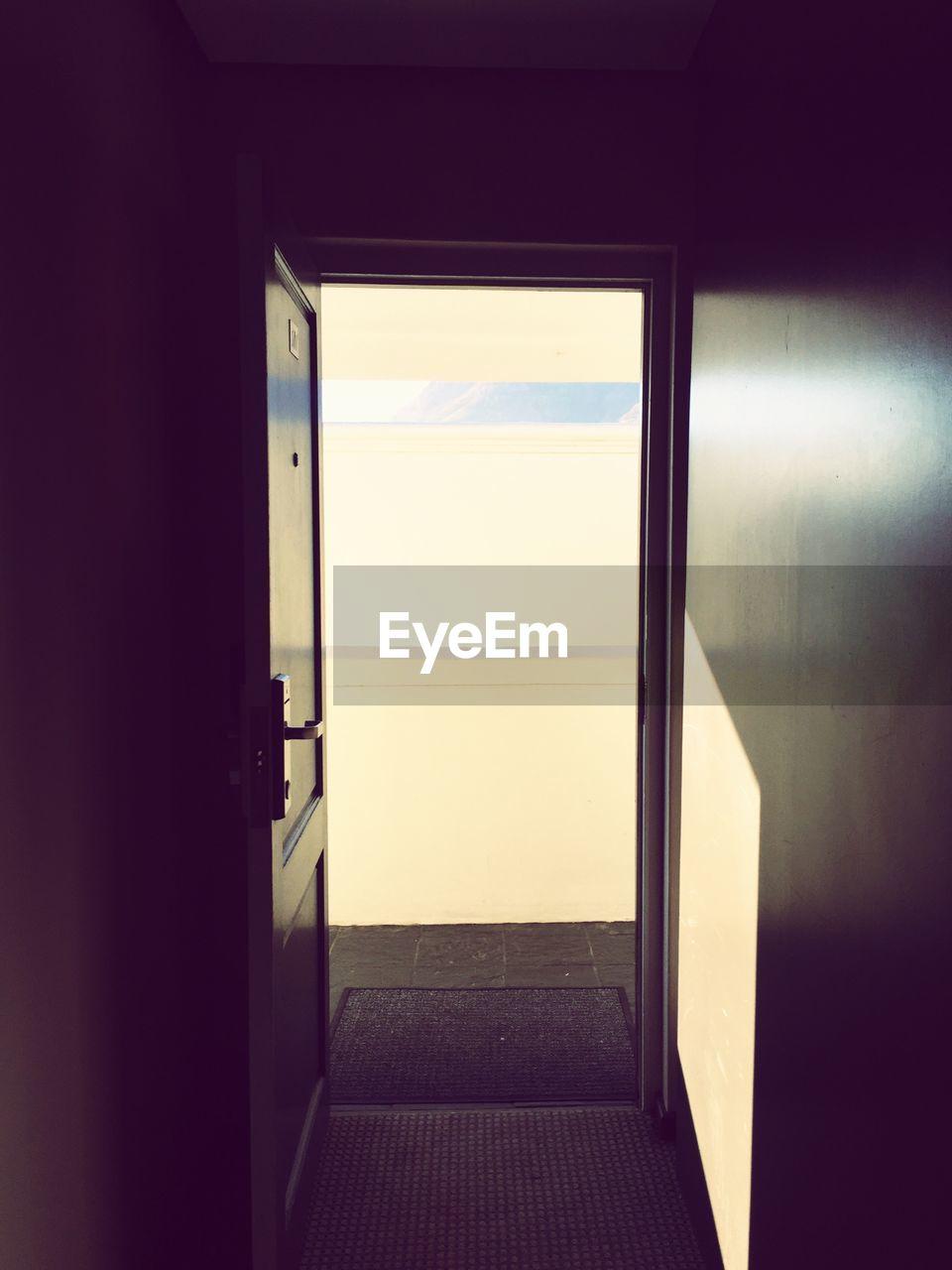 door, indoors, no people, doorway, day, architecture