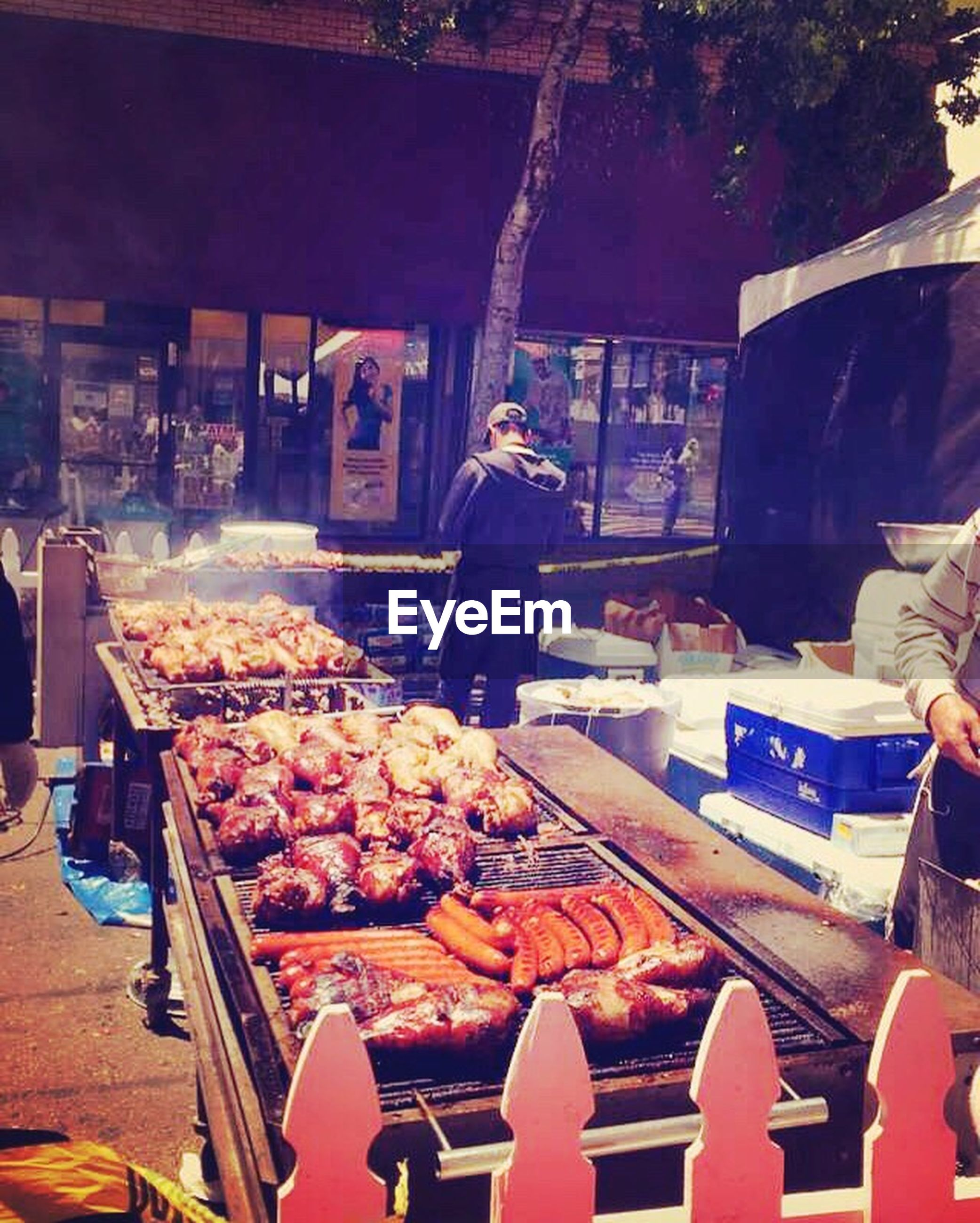 men, lifestyles, food and drink, retail, market, for sale, market stall, food, person, leisure activity, standing, small business, casual clothing, freshness, built structure, selling, holding