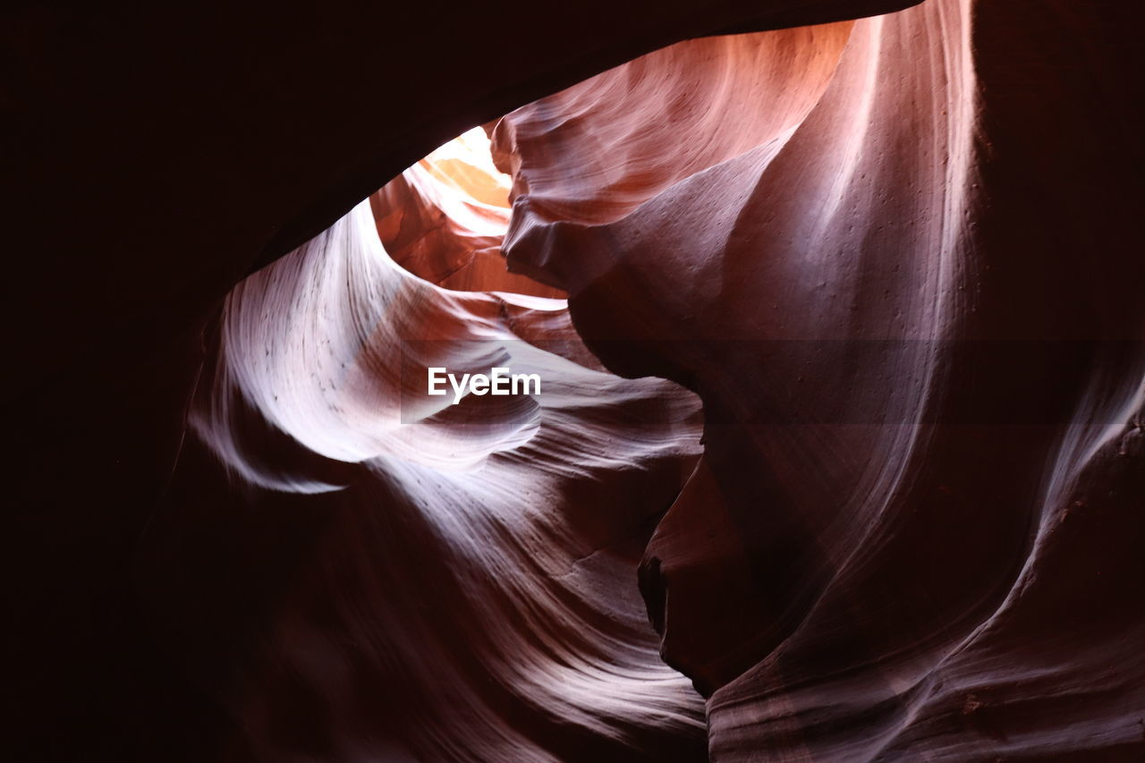 no people, rock formation, canyon, solid, beauty in nature, physical geography, rock - object, geology, travel destinations, rock, eroded, sandstone, low angle view, natural pattern, indoors, travel, nature, day, tourism, non-urban scene