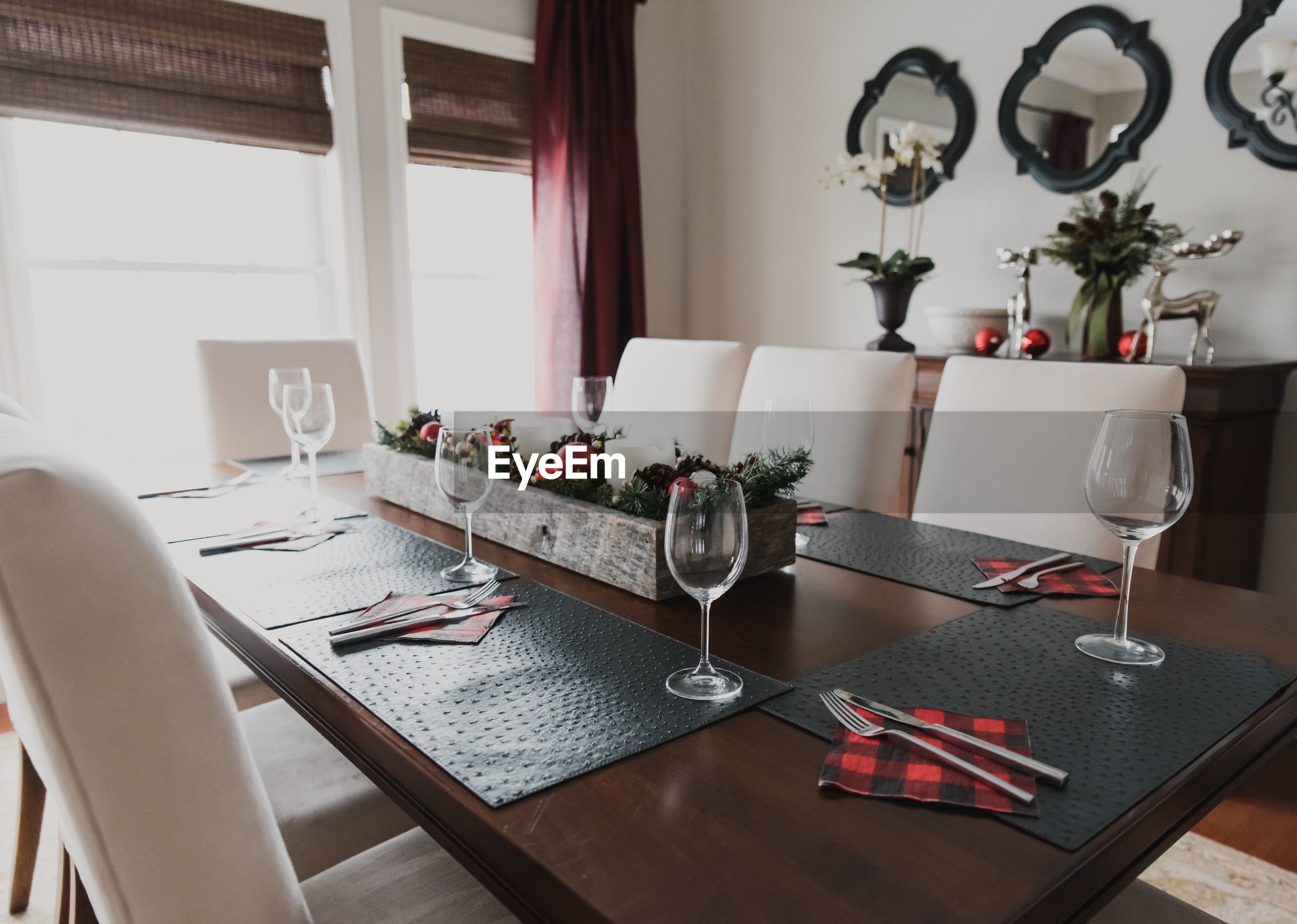 VIEW OF DINING TABLE