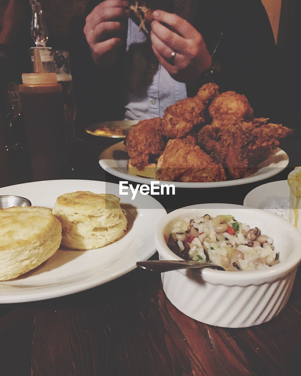 food and drink, food, plate, table, serving size, freshness, ready-to-eat, indoors, meal, one person, real people, gourmet, human hand, close-up, day, people