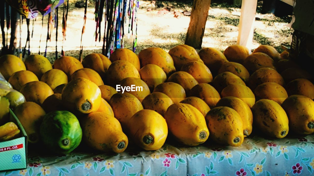 healthy eating, food and drink, wellbeing, fruit, freshness, no people, food, for sale, market, large group of objects, day, abundance, retail, choice, close-up, market stall, yellow, variation, arrangement, still life, ripe