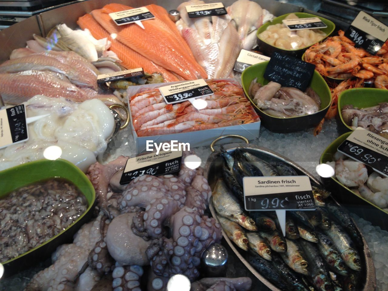 food, seafood, food and drink, freshness, variation, healthy eating, no people, choice, indoors, meat, price tag, close-up, day, ready-to-eat