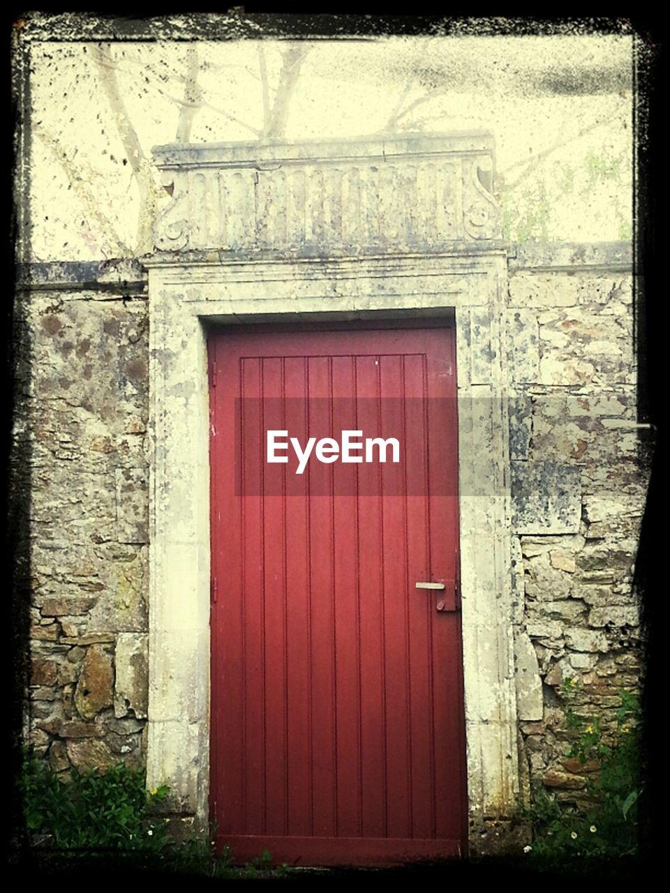 door, entrance, closed, built structure, architecture, no people, day, doorway, outdoors, curtain, building exterior, window, entry, open door