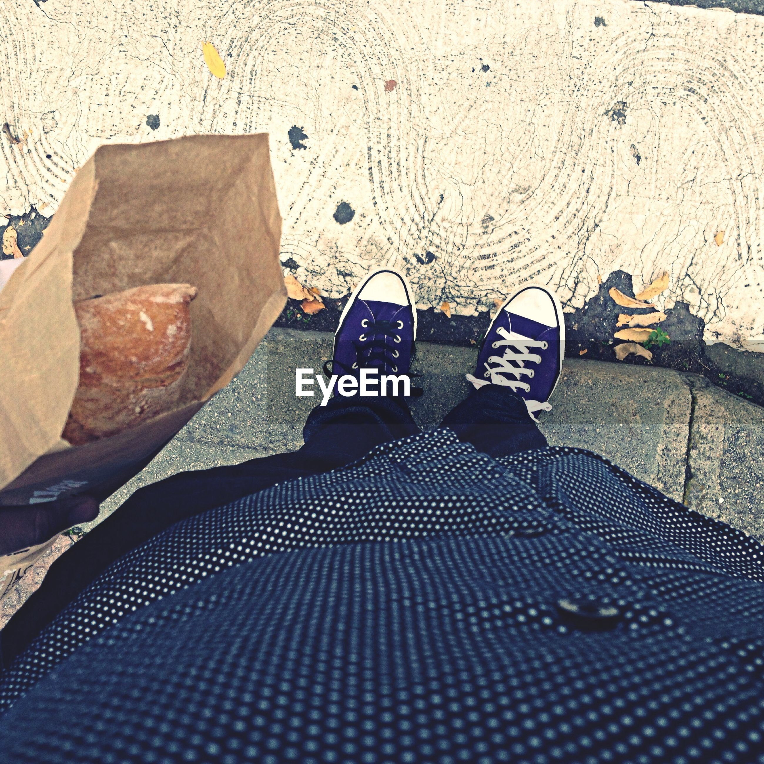 lifestyles, leisure activity, high angle view, low section, men, shadow, shoe, sunlight, standing, person, casual clothing, day, street, outdoors, jeans, personal perspective