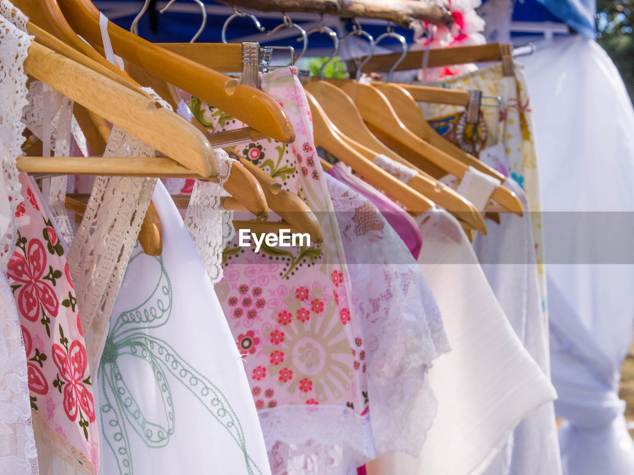 retail, choice, variation, clothing, store, coathanger, fashion, for sale, no people, large group of objects, indoors, hanging, multi colored, group of objects, consumerism, close-up, day