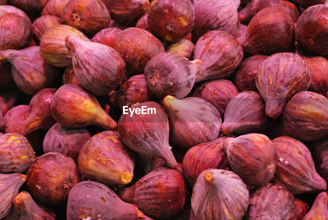 Full Frame Shot Of Figs For Sale At Market