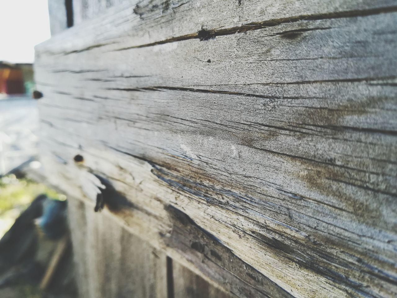 wood - material, close-up, textured, outdoors, day, pattern, no people, built structure, building exterior, architecture, nature