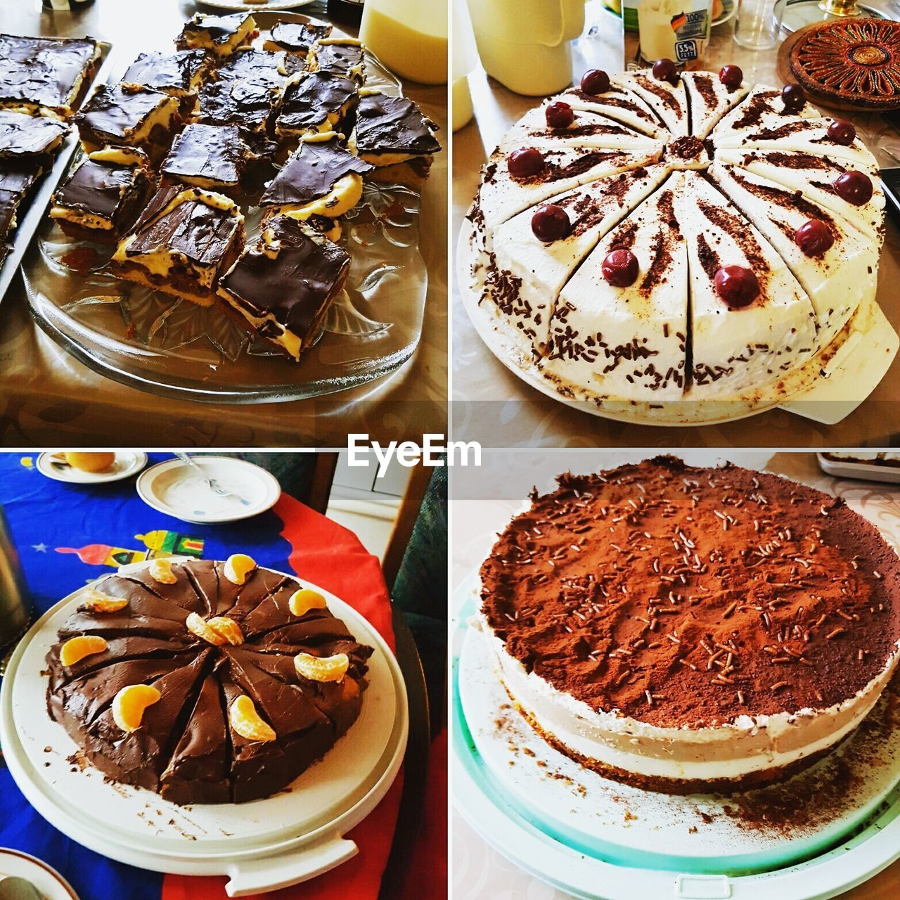 food and drink, indulgence, food, variation, collage, freshness, choice, table, sweet food, dessert, ready-to-eat, indoors, no people, temptation, plate, close-up, star anise, day