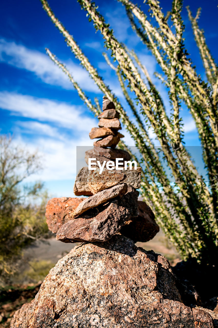 day, nature, no people, outdoors, balance, rock - object, sky, focus on foreground, beauty in nature, tranquility, stack, close-up