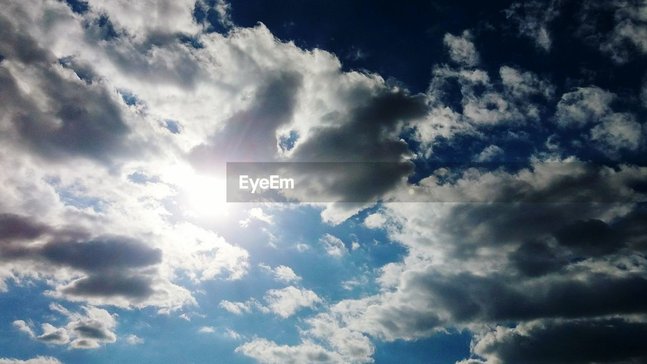 cloud - sky, nature, beauty in nature, sky, backgrounds, cloudscape, tranquility, scenics, low angle view, no people, sky only, tranquil scene, full frame, day, blue, outdoors, awe