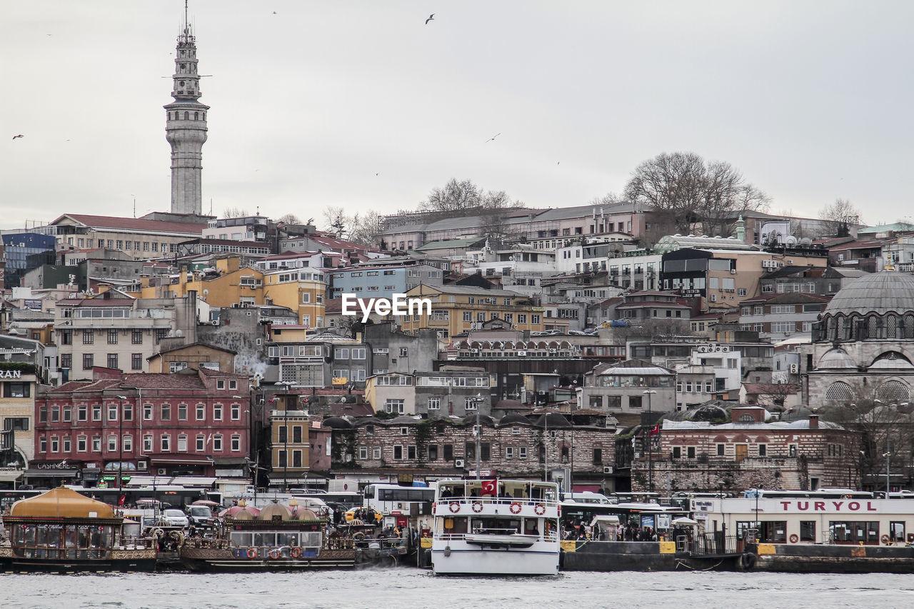 VIEW OF TURKISH CITY
