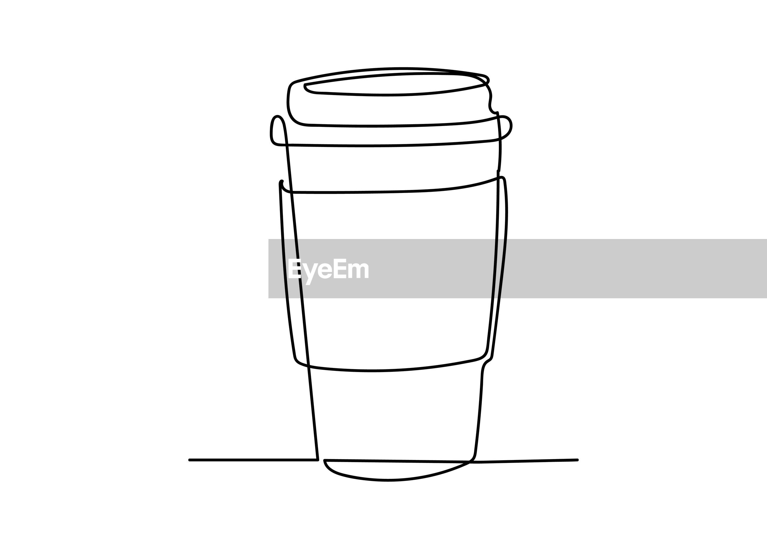 CLOSE-UP OF A GLASS OF WHITE BACKGROUND