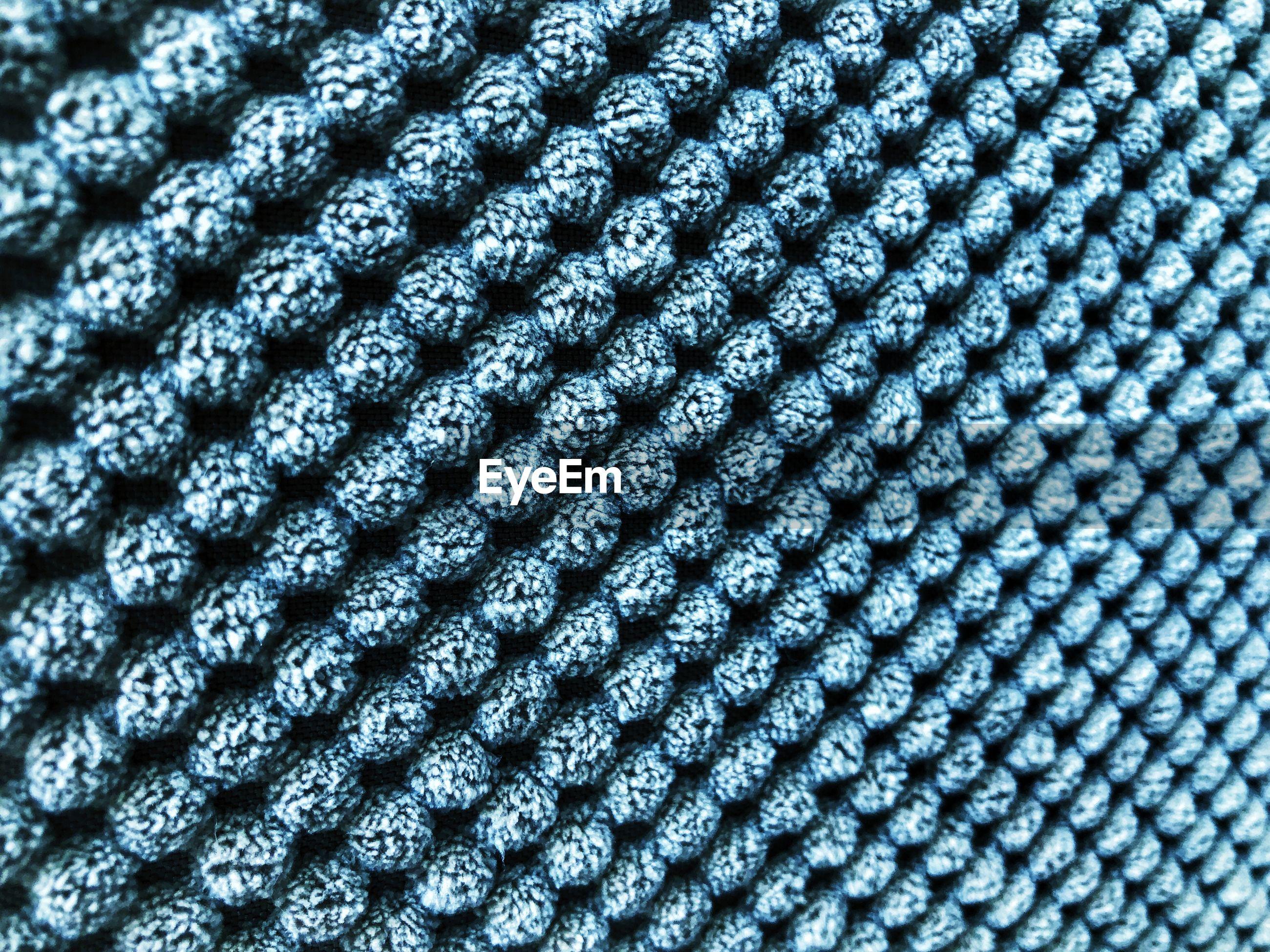 Full frame macro shot of fiber