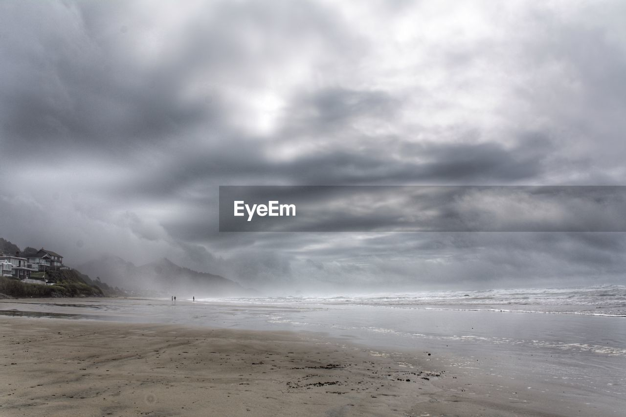 cloud - sky, sky, beauty in nature, sea, scenics - nature, beach, storm, land, water, nature, no people, overcast, power in nature, motion, tranquil scene, day, storm cloud, power, outdoors, ominous