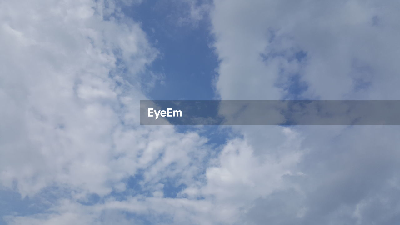 sky, cloud - sky, beauty in nature, nature, low angle view, tranquility, backgrounds, full frame, no people, day, scenics, blue, outdoors, sky only