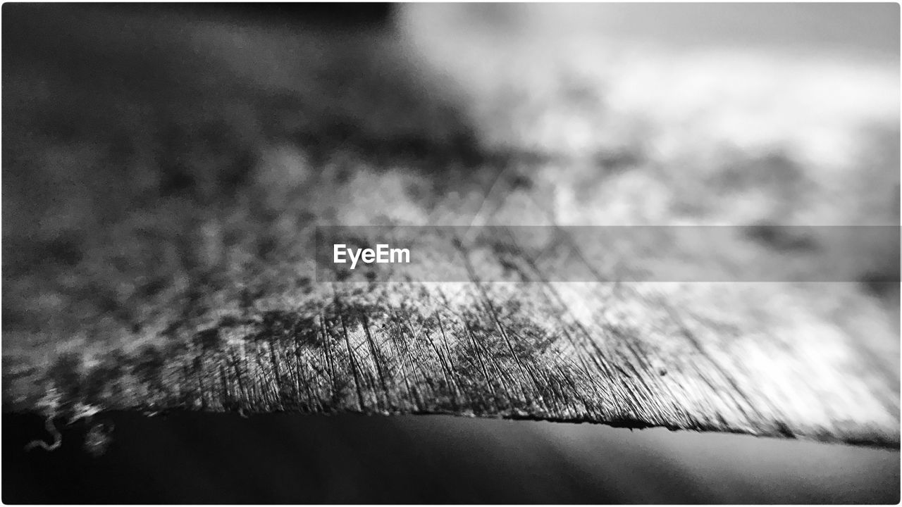 selective focus, close-up, no people, wood - material, textured, table, indoors, day, nature