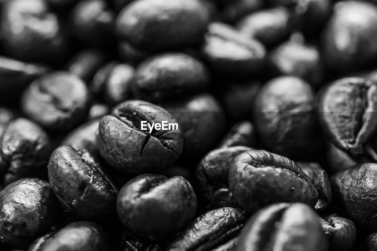 food and drink, food, large group of objects, freshness, still life, full frame, abundance, close-up, backgrounds, selective focus, no people, healthy eating, wellbeing, coffee - drink, indoors, brown, roasted coffee bean, coffee, coffee bean, detail, caffeine