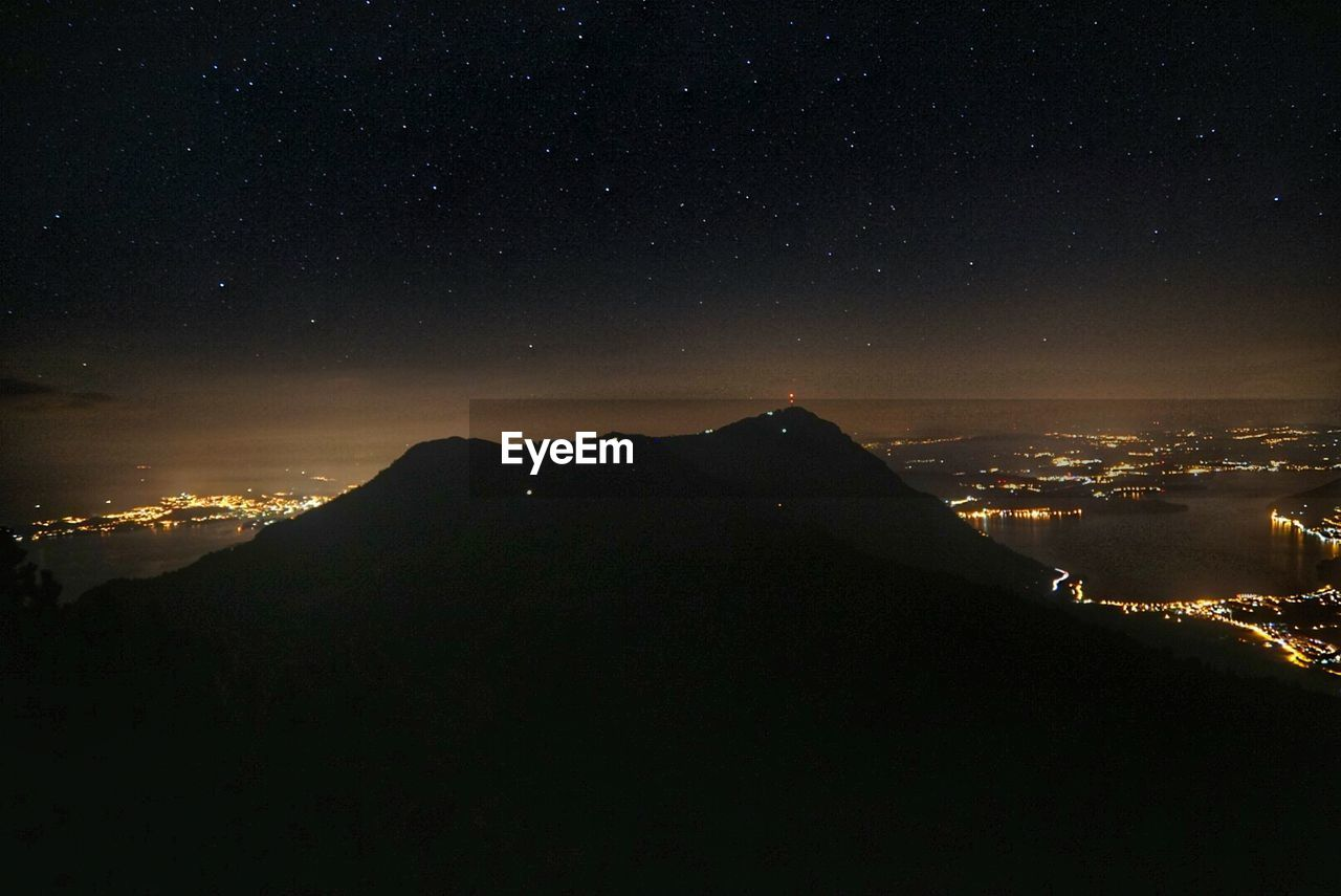 night, mountain, scenics, beauty in nature, no people, nature, outdoors, tranquility, sky, illuminated