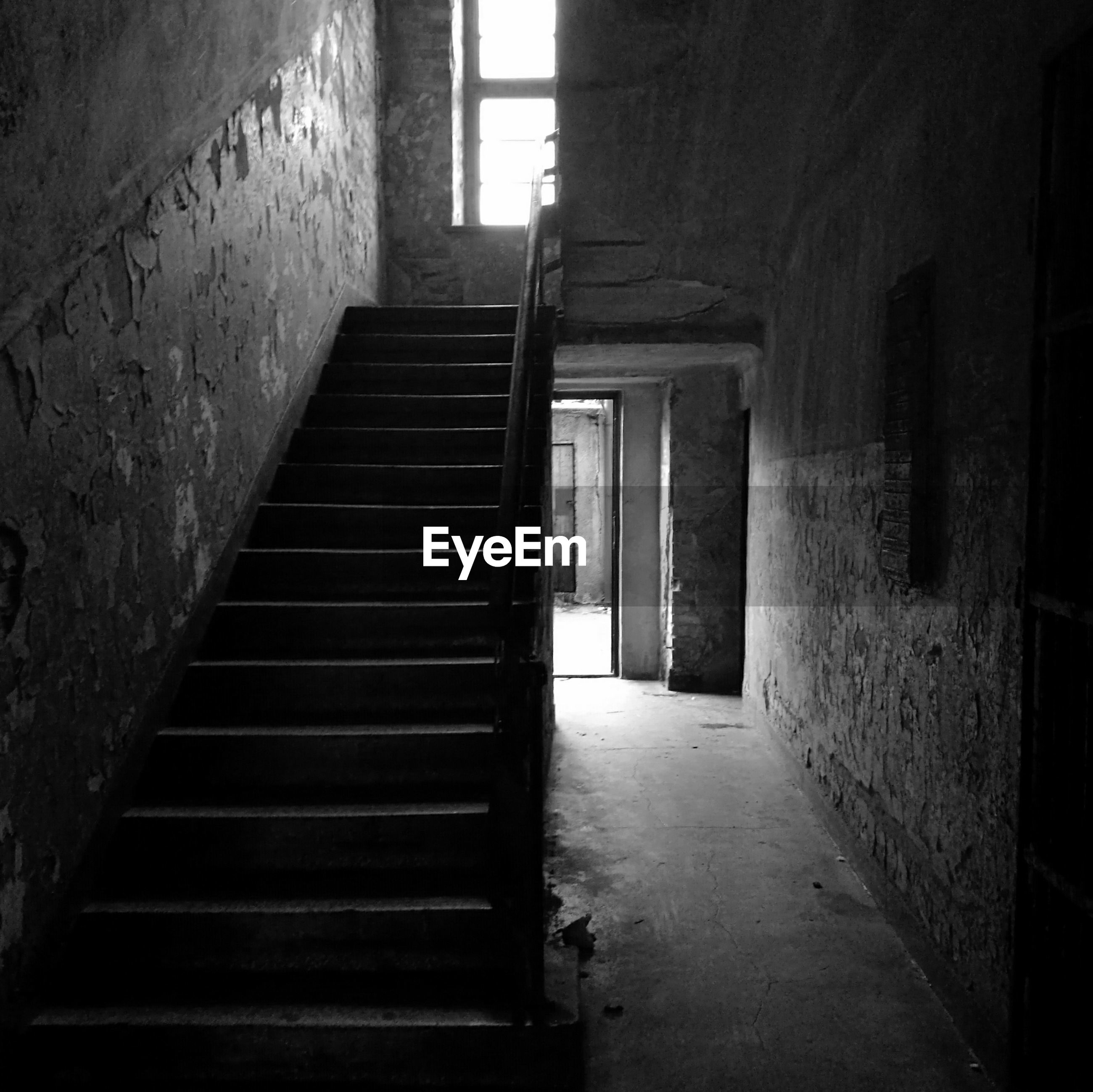 the way forward, indoors, built structure, architecture, steps, empty, no people, steps and staircases, staircase, day