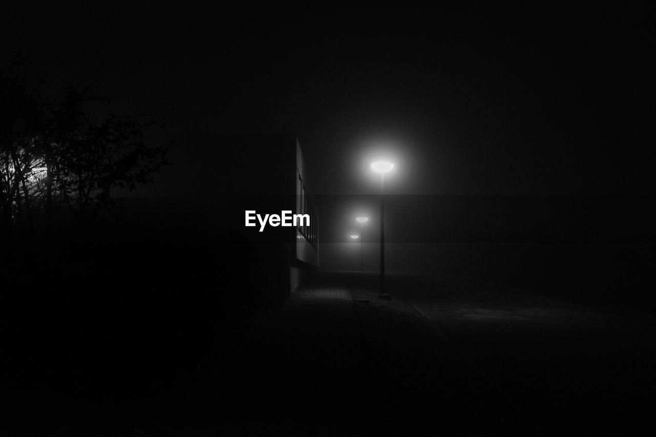 illuminated, night, lighting equipment, dark, no people, electricity, indoors, nature