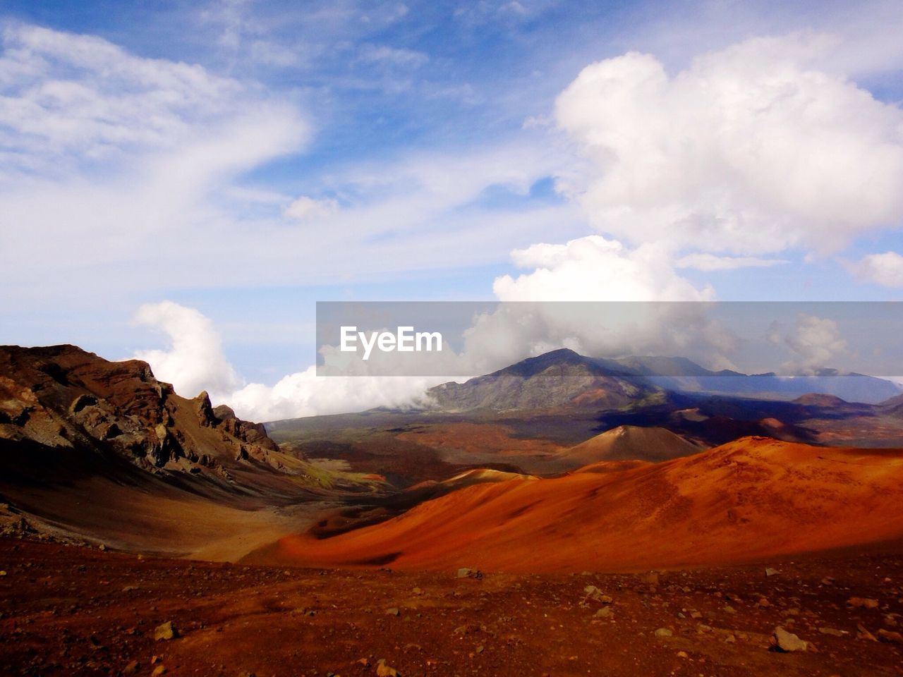 SCENIC VIEW OF VOLCANIC LANDSCAPE IN HAWAII