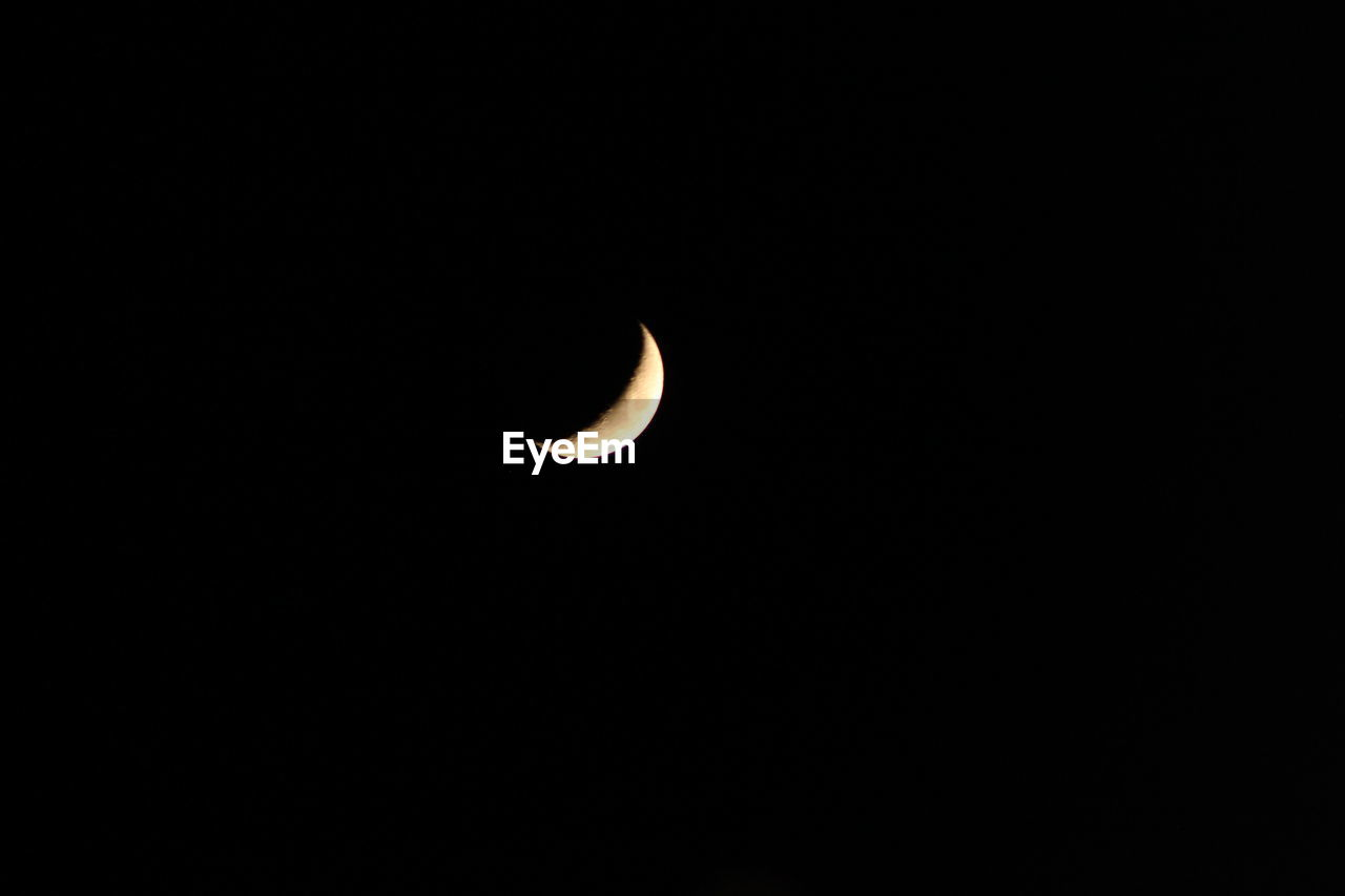 astronomy, copy space, moon, night, beauty in nature, eclipse, nature, crescent, scenics, space, tranquility, half moon, tranquil scene, solar eclipse, space exploration, clear sky, natural phenomenon, no people, sky, outdoors