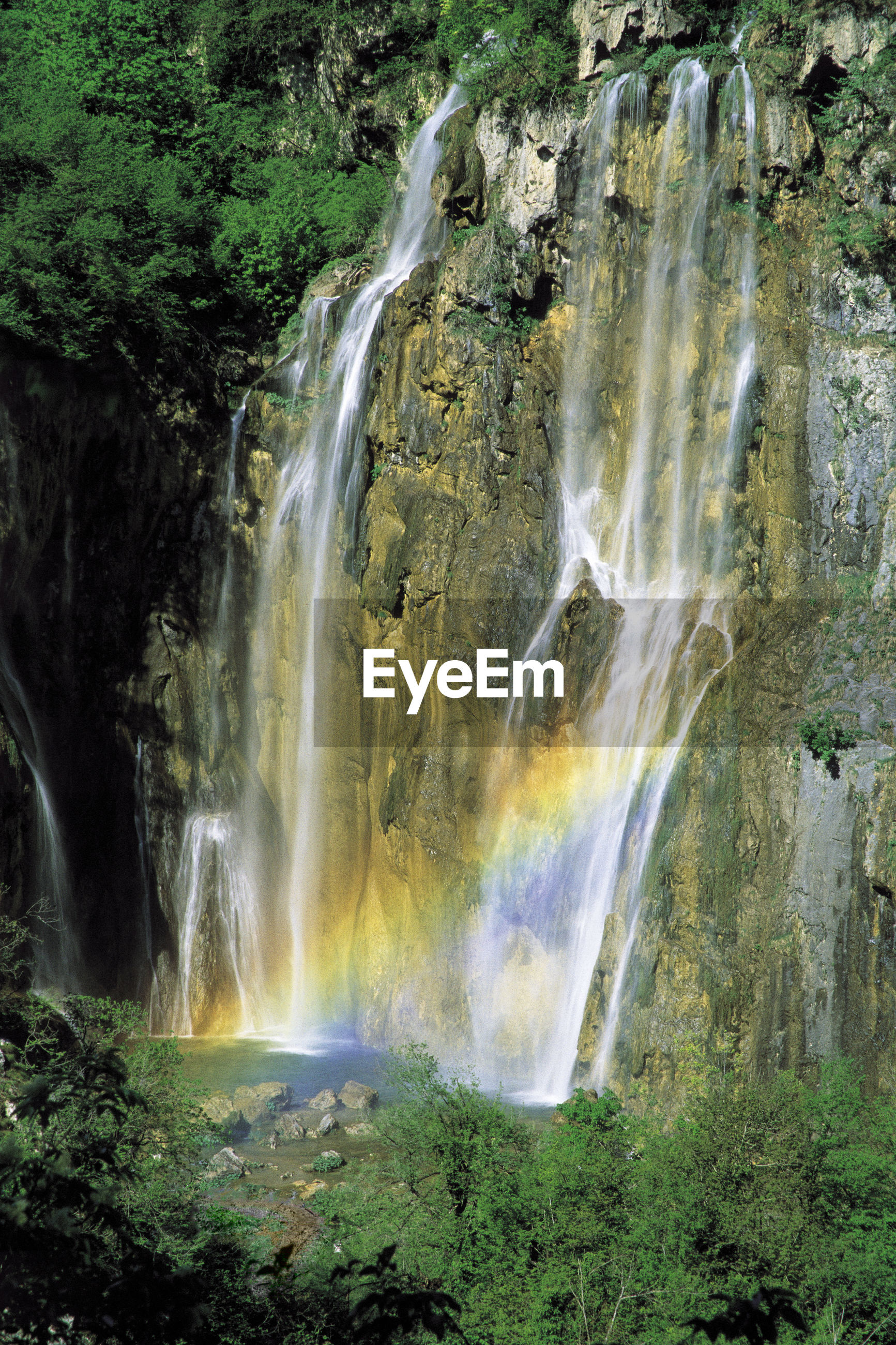 Waterfalls in the plitivce lakes, croatia