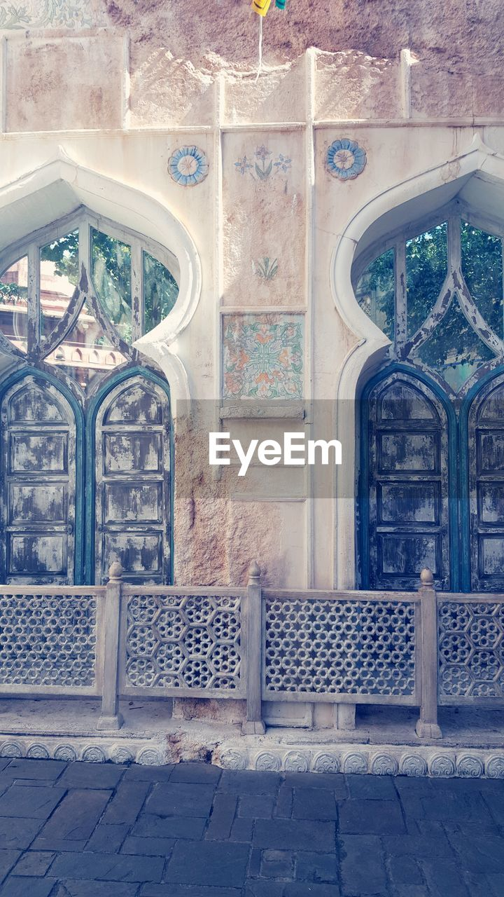 religion, architecture, built structure, place of worship, spirituality, day, window, arch, no people, building exterior, indoors
