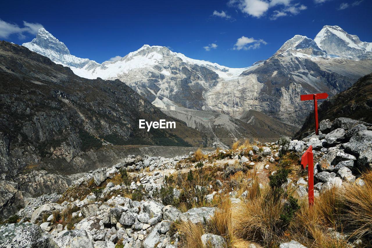 Scenic Of Mountain Range Against Sky