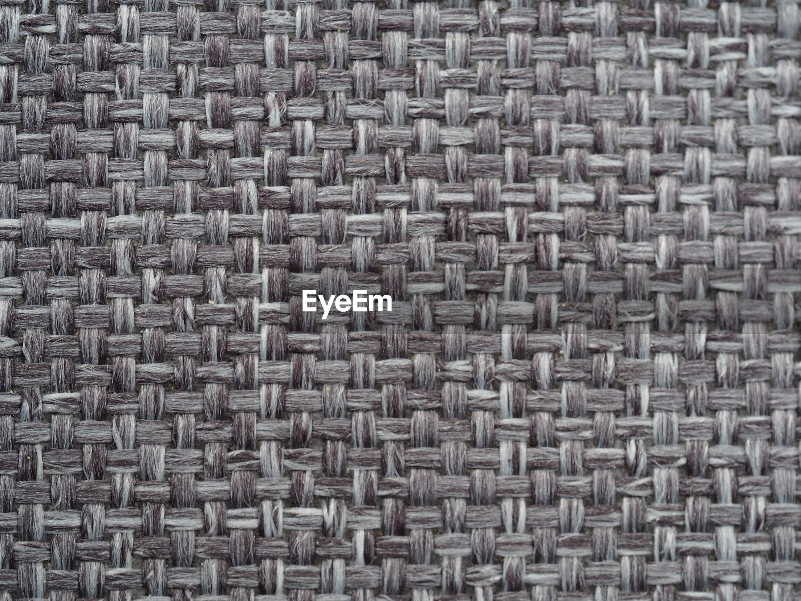 Full frame shot of knitted fabric