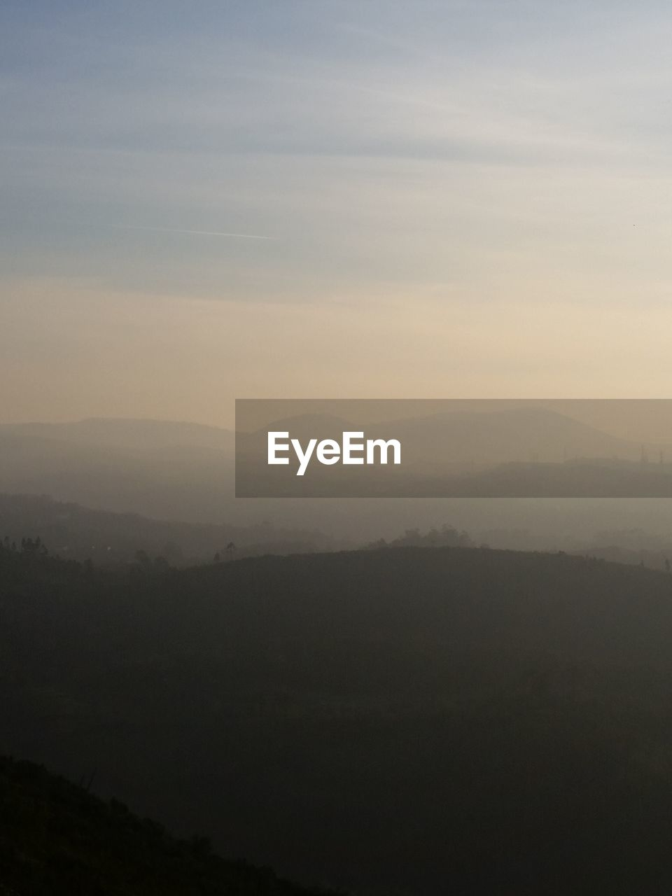 scenics - nature, beauty in nature, tranquil scene, sky, tranquility, landscape, mountain, environment, fog, non-urban scene, nature, no people, idyllic, cloud - sky, outdoors, mountain range, tree, remote, silhouette, hazy