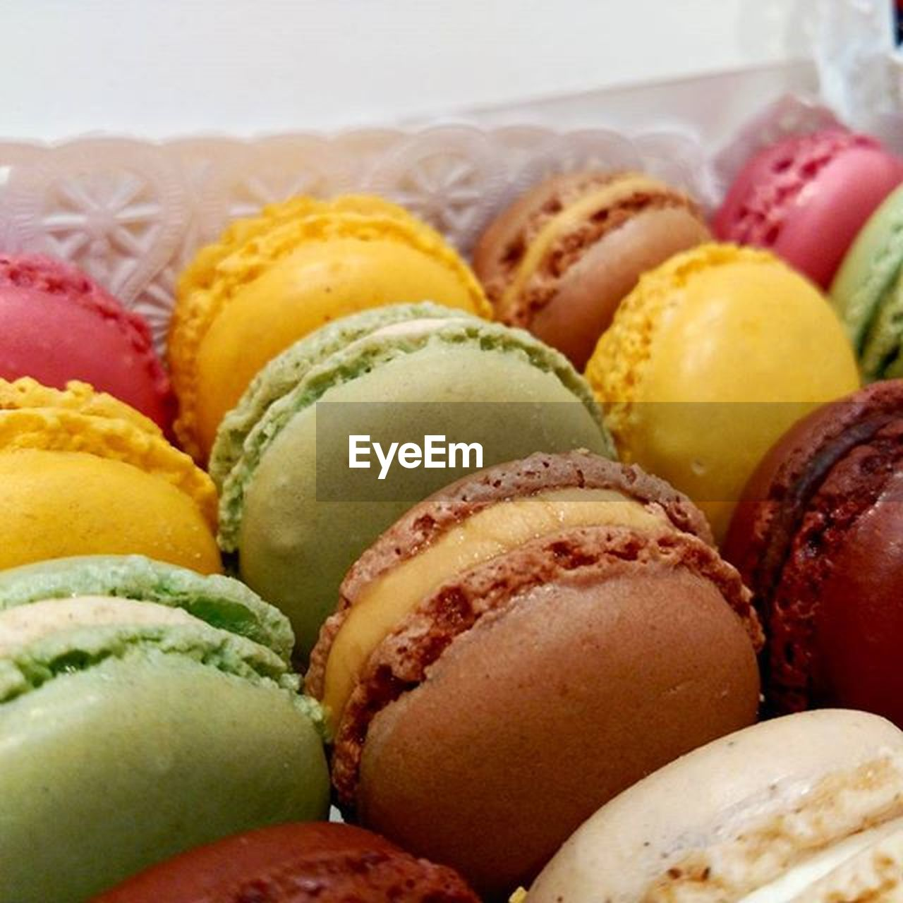 food and drink, food, no people, freshness, sweet food, indoors, variation, multi colored, close-up, dessert, ready-to-eat, day