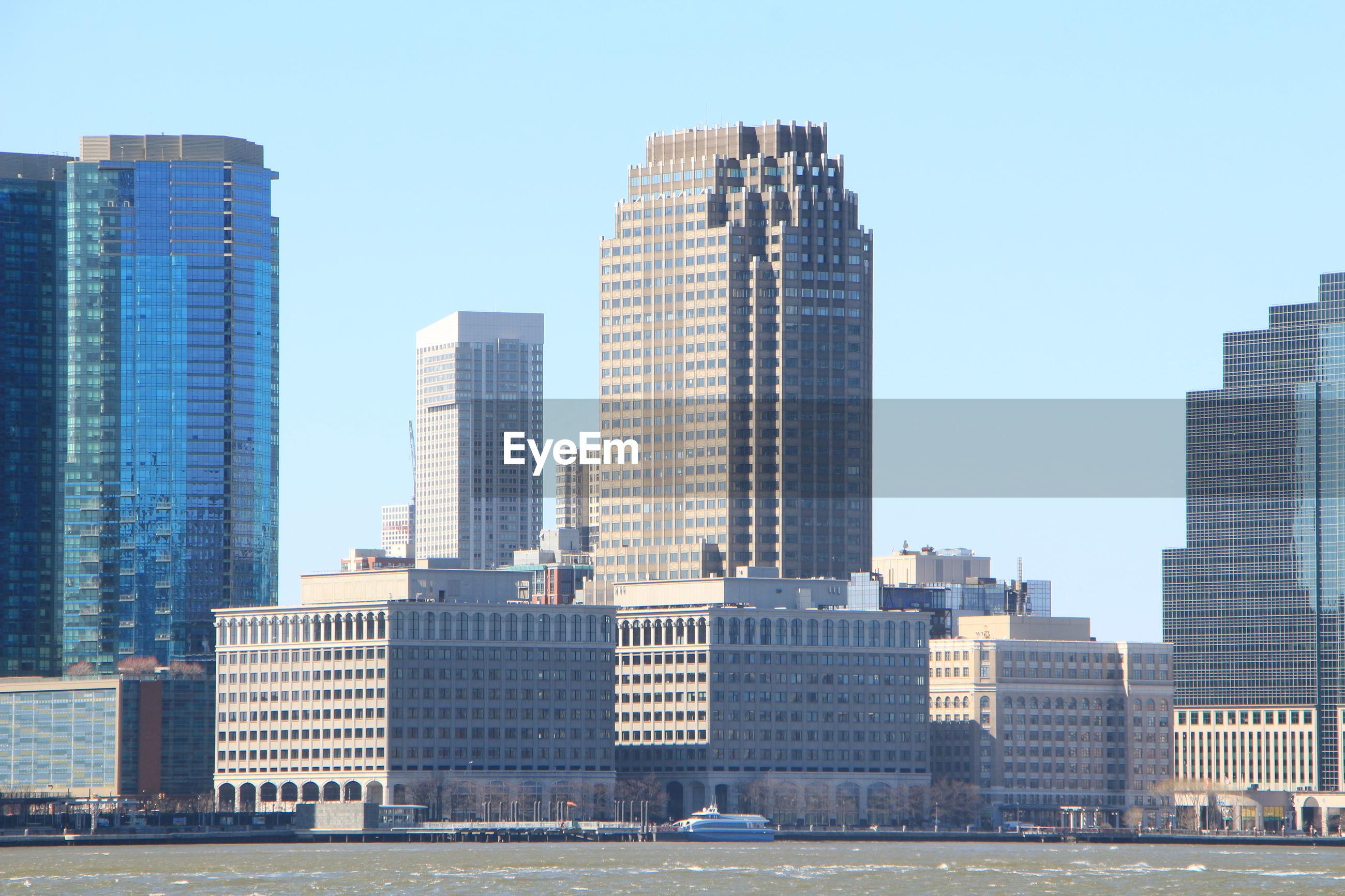 Buildings in city