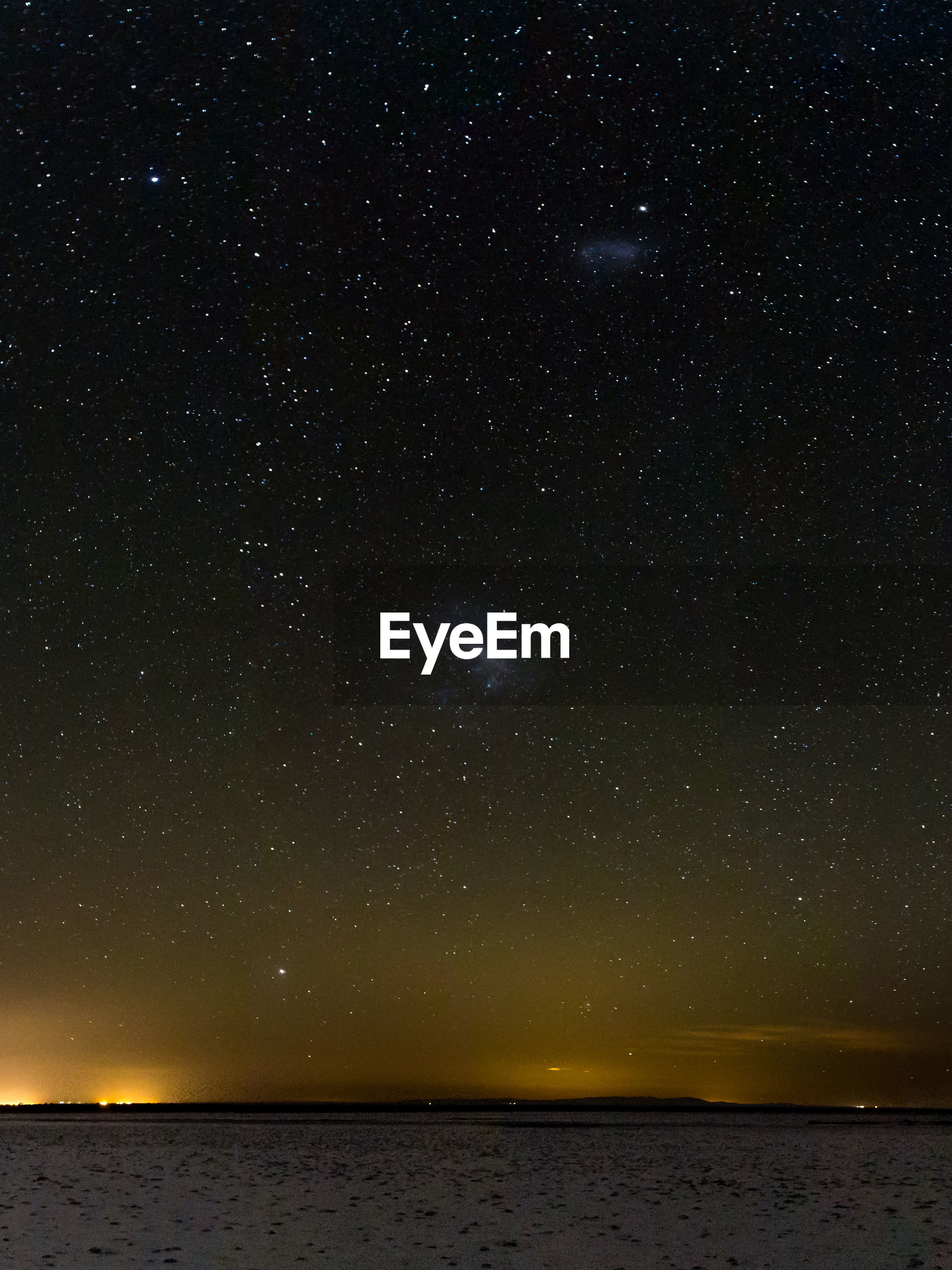 SCENIC VIEW OF STAR FIELD AT NIGHT