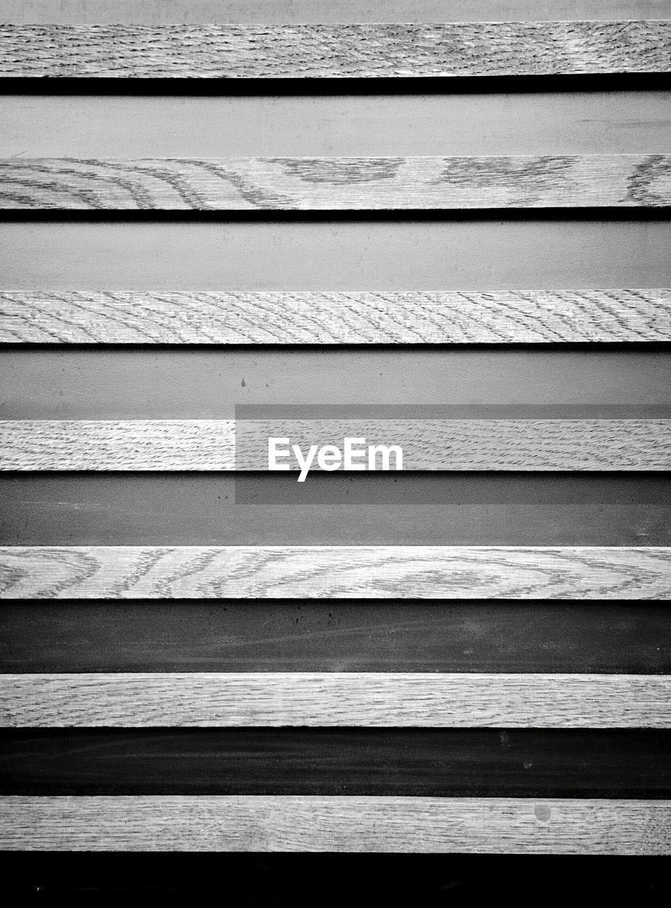 Full Frame Shot Of Wooden Pattern