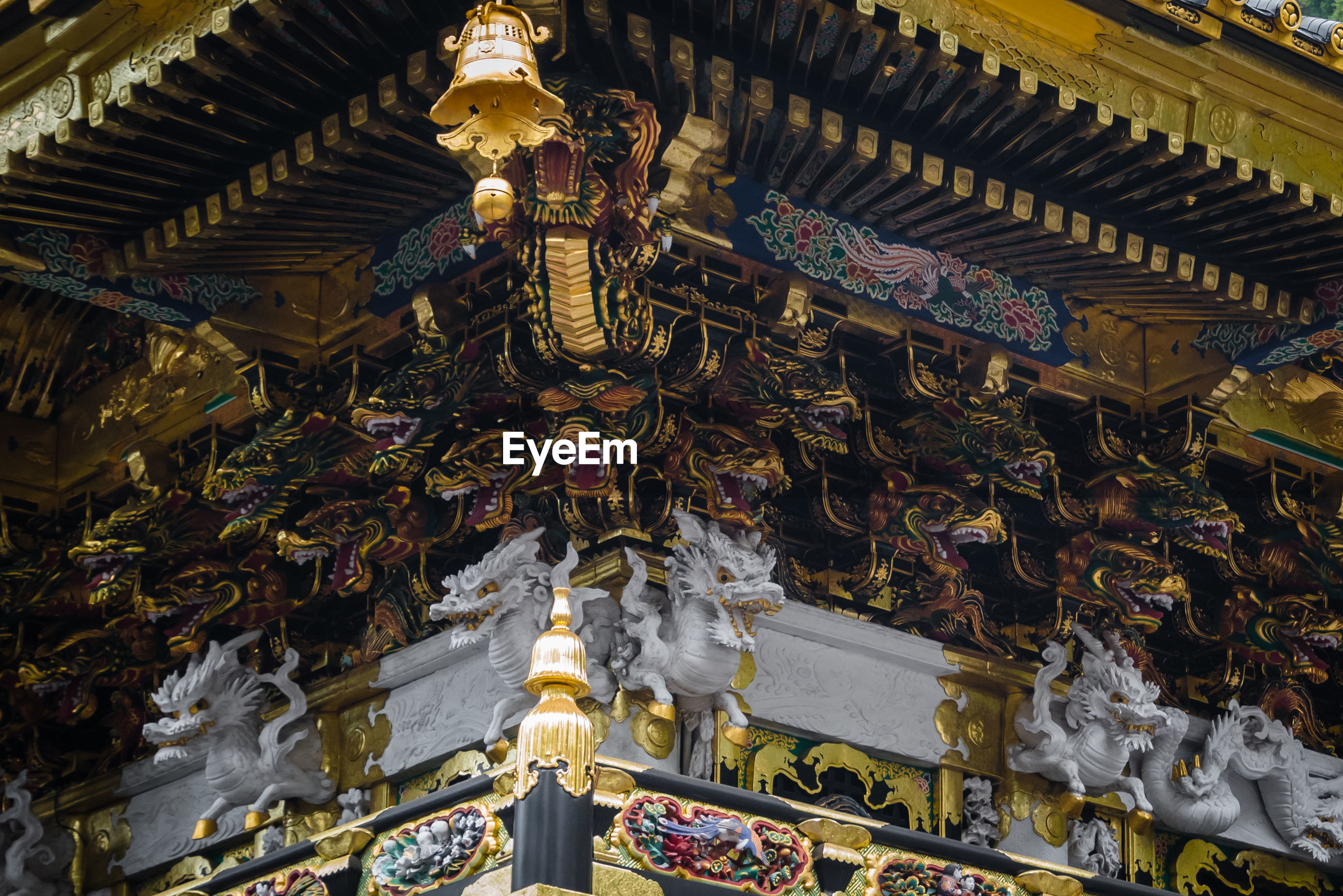 The famous toshogu gate in nikko, japan