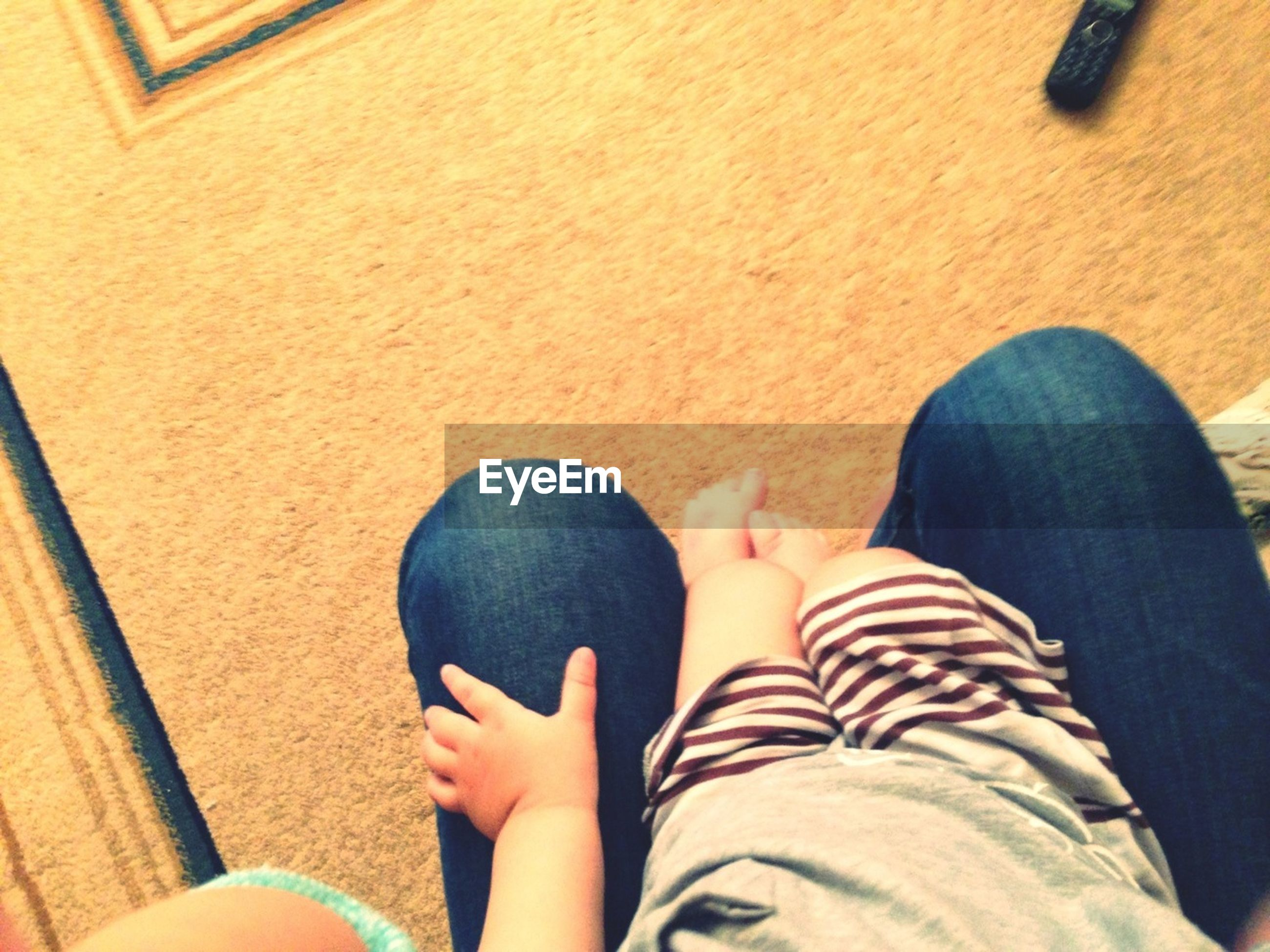 personal perspective, low section, person, lifestyles, leisure activity, high angle view, barefoot, human foot, relaxation, part of, indoors, standing, sitting, shoe, nail polish