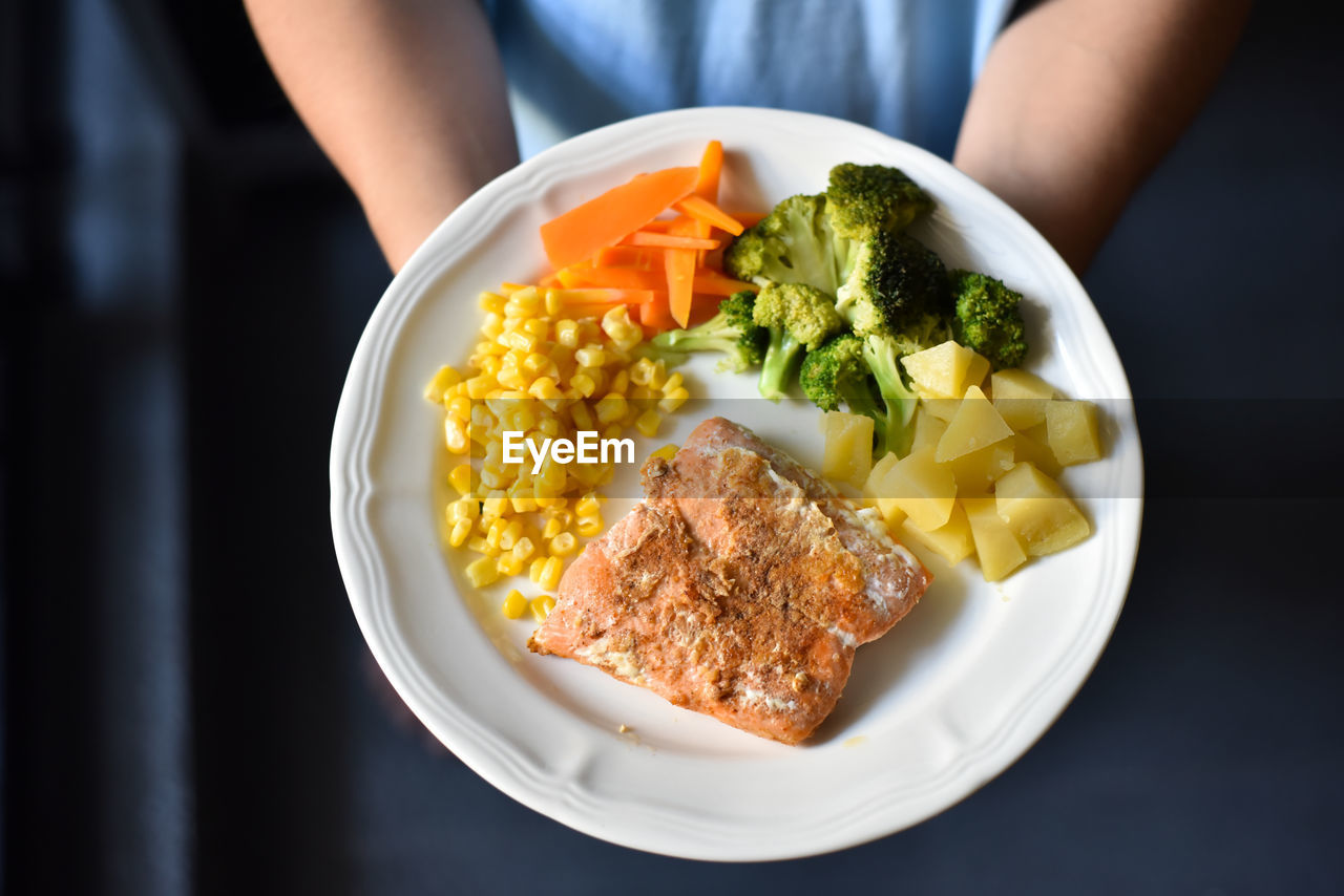 Close-Up Of Food On Plate