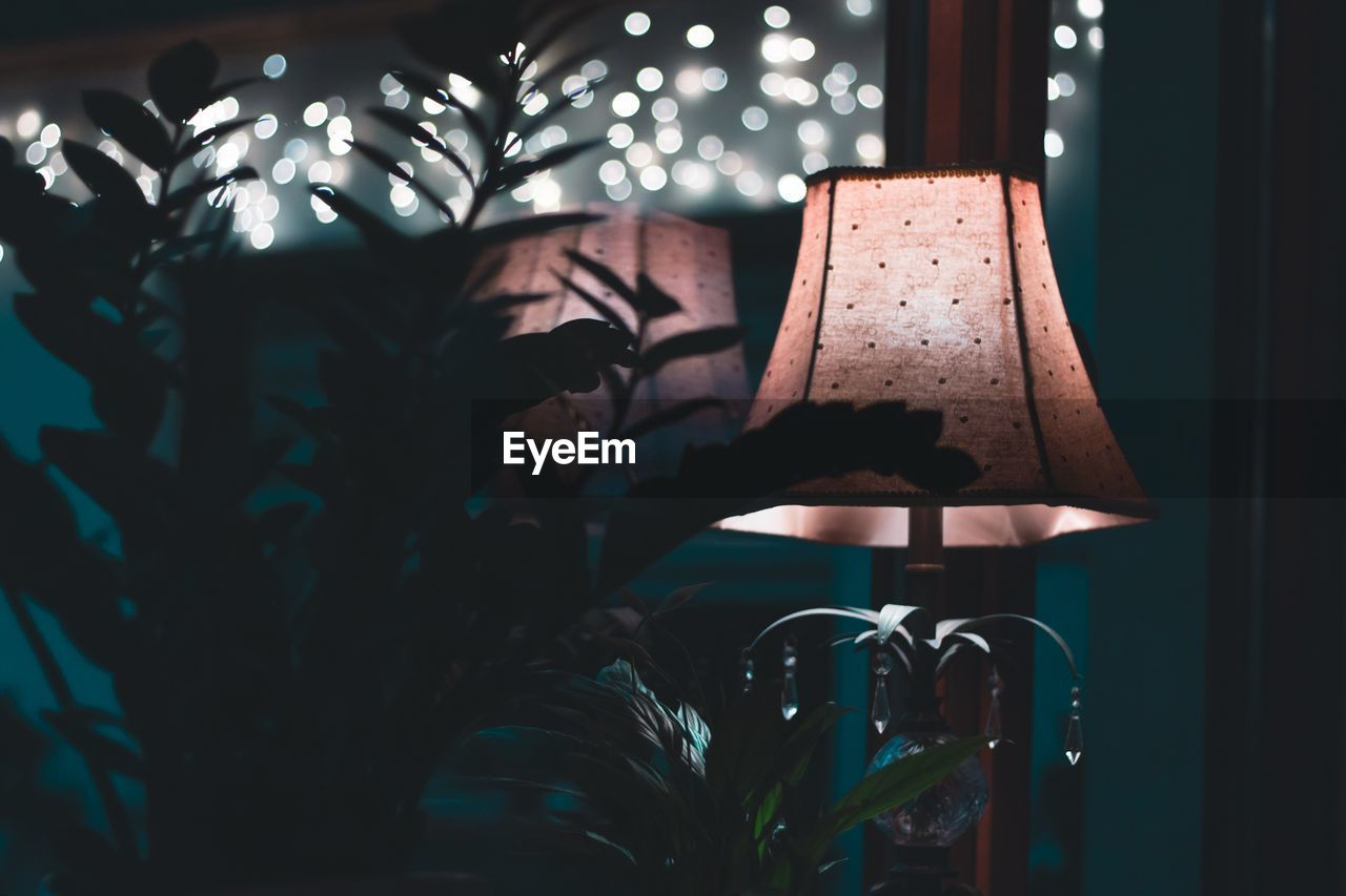indoors, lighting equipment, night, no people, home interior, illuminated, close-up, home showcase interior
