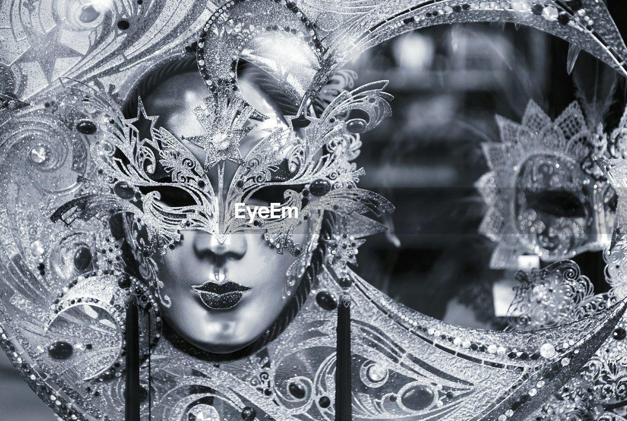 Close-Up Of Venetian Mask