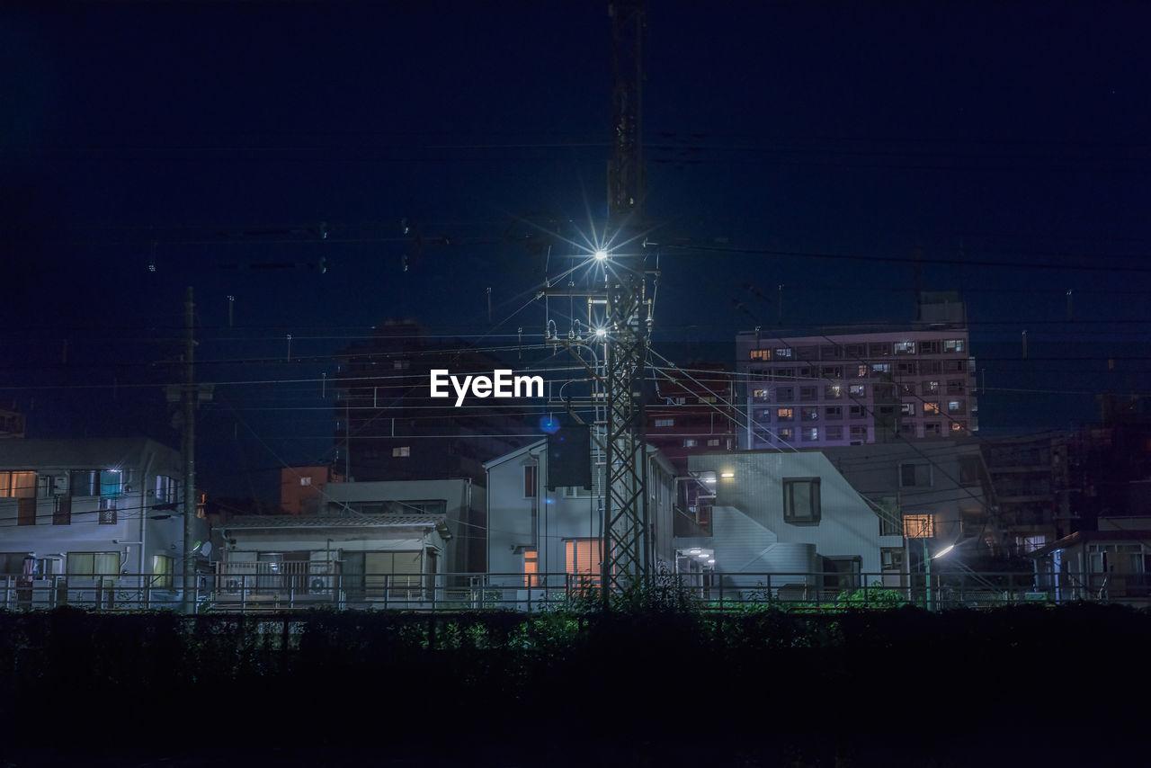 Urban night scenery