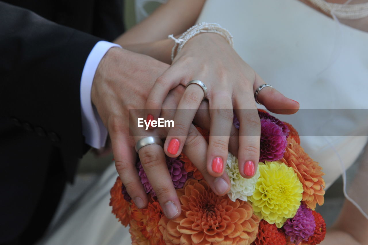 human hand, hand, women, human body part, adult, bride, real people, newlywed, event, wedding, life events, jewelry, finger, ring, bridegroom, ceremony, body part, love, married, human finger, positive emotion, wedding ceremony, couple - relationship, nail