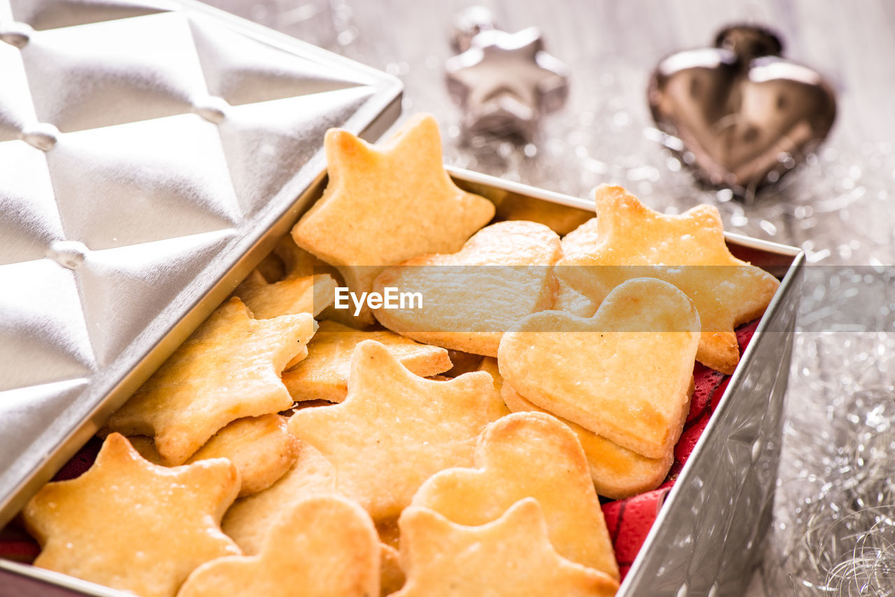 Close-Up Of Cookies